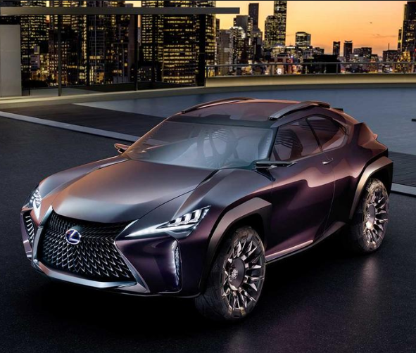 The Lexus UX Concept Takes Extreme Design To New Levels