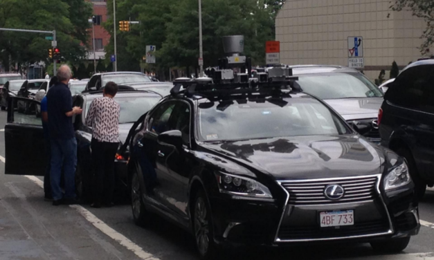 Is That A Self Driving Lexus?