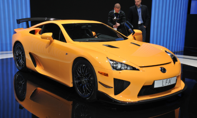 10 Amazing Lexus Facts