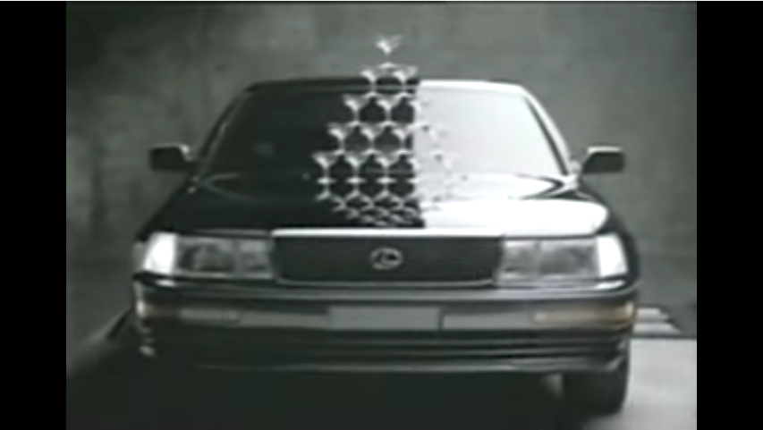 4 Vintage Lexus Commercials You'll Love