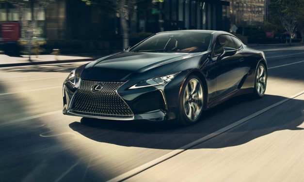 The 2018 Lexus LC 500 Is Not Messing Around