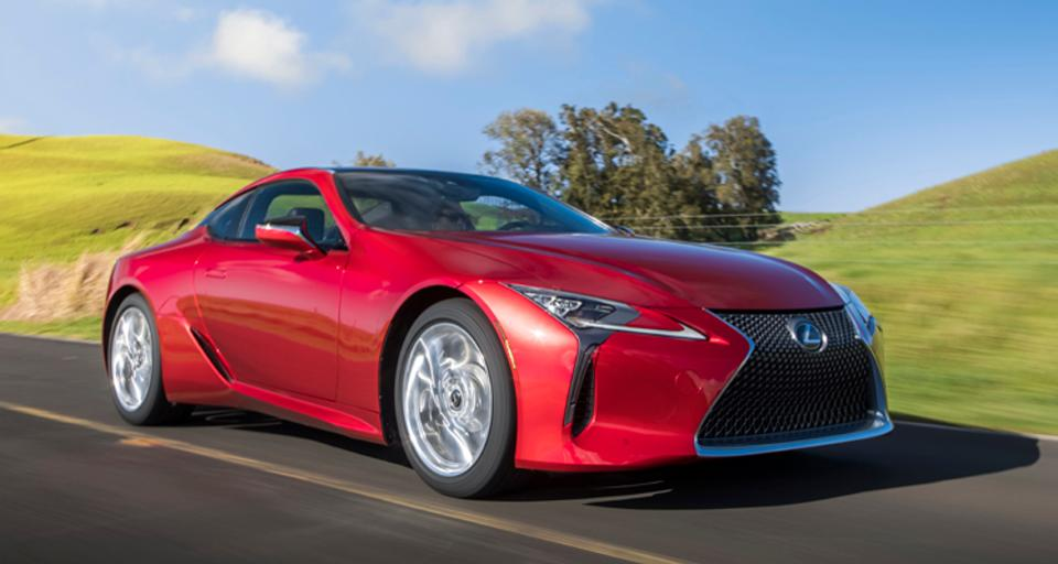 The 2018 Lexus LC 500 vs The Rest